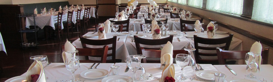 Private Event Menus & Details